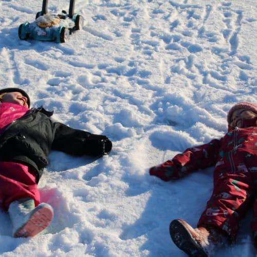 Sedbergh Nursery School - Mulberry Bush Snow