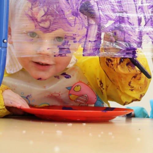 Sedbergh Nursery School - Mulberry Bush Paint